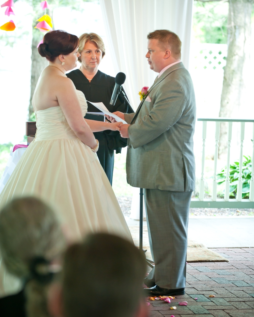 Mr. Lox saying his vows